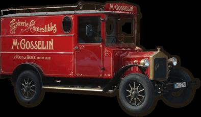 Camion Maison Gosselin